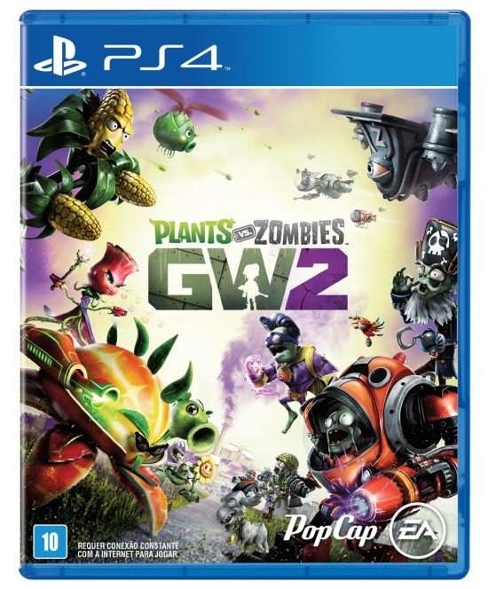 Jogo Playstation 4 - Plants VS Zombies GW 2