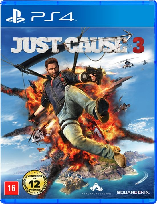 Jogo Playstation 4 - Just Cause 3