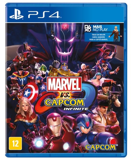 Jogo Playstation 4 - Marvel VS Capcom Infinite