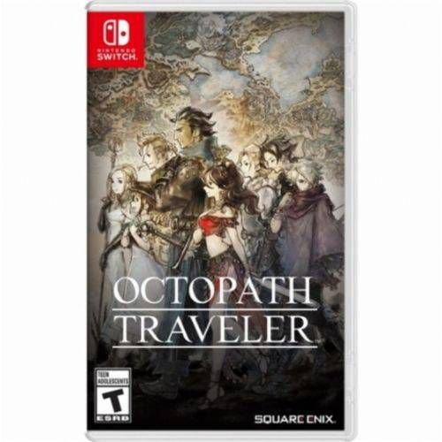 Jogo Octopath Traveler - Switch