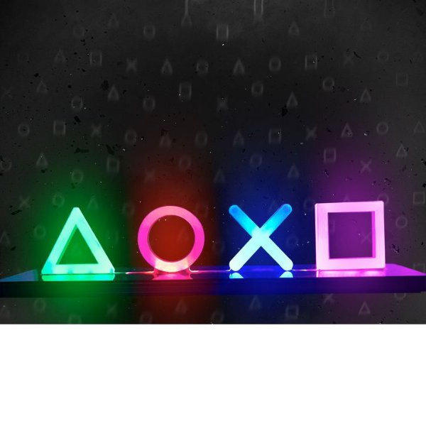 Luminária LED Playstation 4