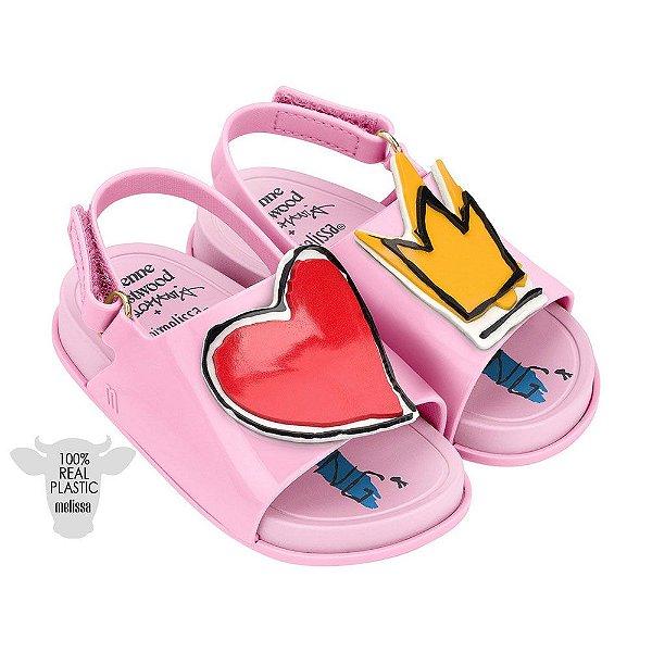 Mini Melissa Beach Slide Sandal + Vivienne Westwood Anglomania