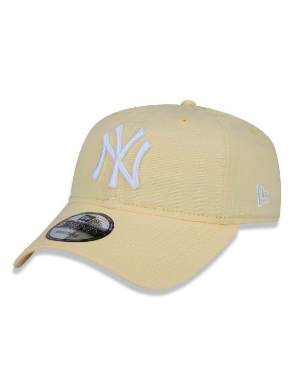 c83236ca24342 Boné New Era MLB New York Yankees Aba Curva 920 St Pastels - Loja ...