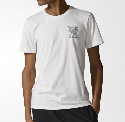 Camiseta Adidas For Nothing