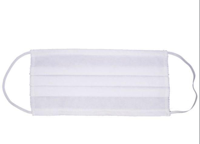KIT COM 500 - Máscara descartável para filtração bacteriana