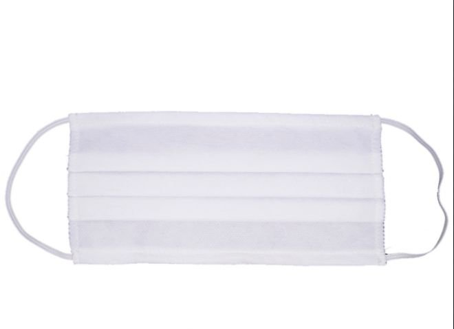 KIT COM 5000 - Máscara Dupla descartável para filtração bacteriana
