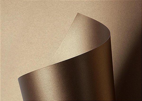 Papel Sirio Pearl Fusion Bronze 125g/m² - 66x96cm