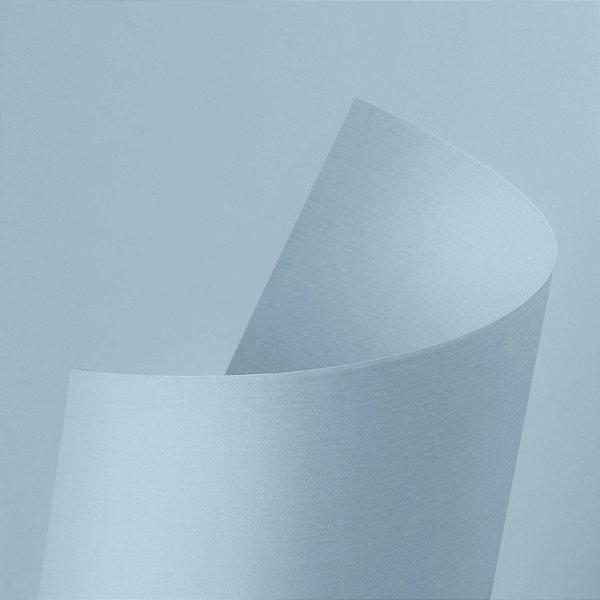 Papel Vergê Plus Água Marinha 120g - A4 com 25 folhas