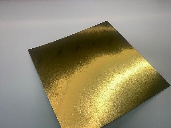 Laminado Ouro Brilho 255g/m² - Formato A4 com 100 folhas
