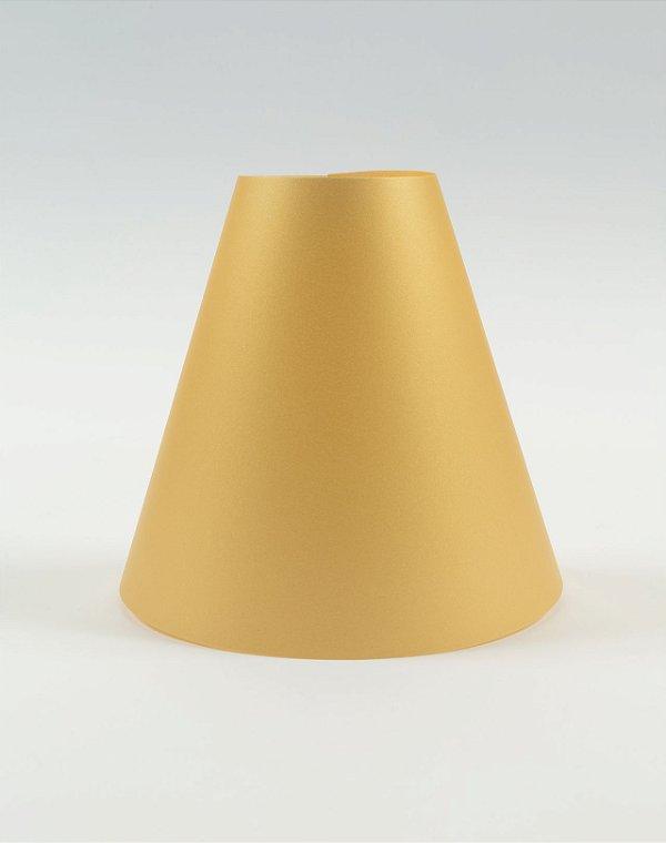 Abajur Color - Ouro