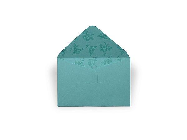 Envelopes 72 x 108 mm - Aruba Decor Rosas Incolor - Lado Interno