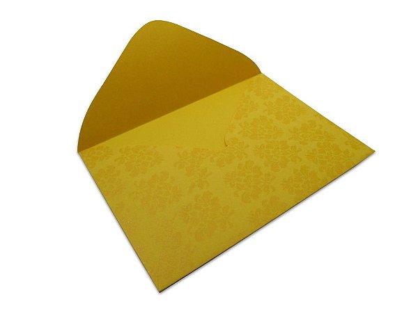 Envelopes 114 x 162 mm - Rio de Janeiro Decor Arabesco Incolor - Lado Externo