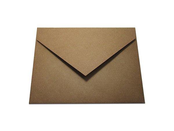 Envelopes 165 x 225 mm - Papel Kraft
