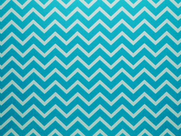 Decor Chevron Blue - Branco