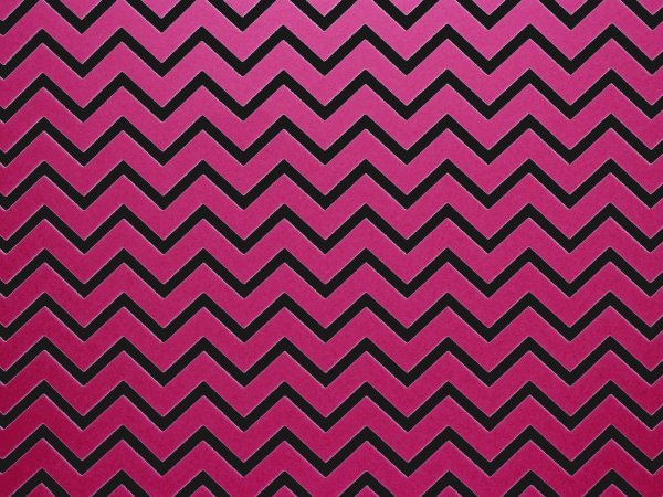 Decor Chevron Pink - Preto