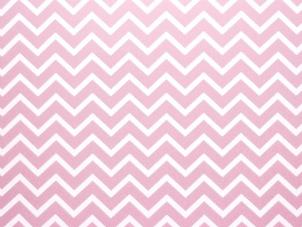 Decor Chevron Rosa Verona - Branco