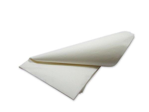 Papel de SEDA Listras Branco para Presente