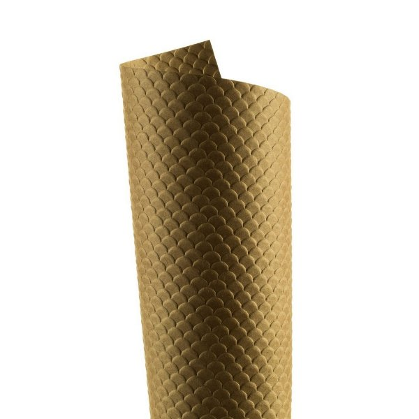 Papel Tx Max Escamas Kraft 30,5x30,5cm com 5 unidades
