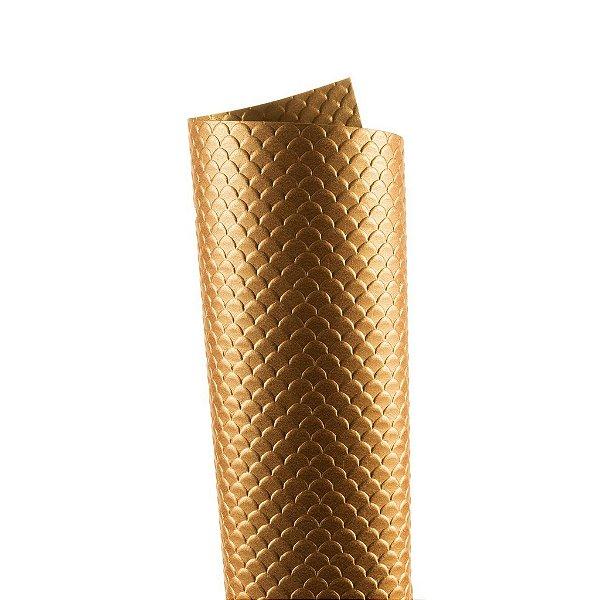 Papel Tx Max Escamas Cooper 30,5x30,5cm com 2 unidades