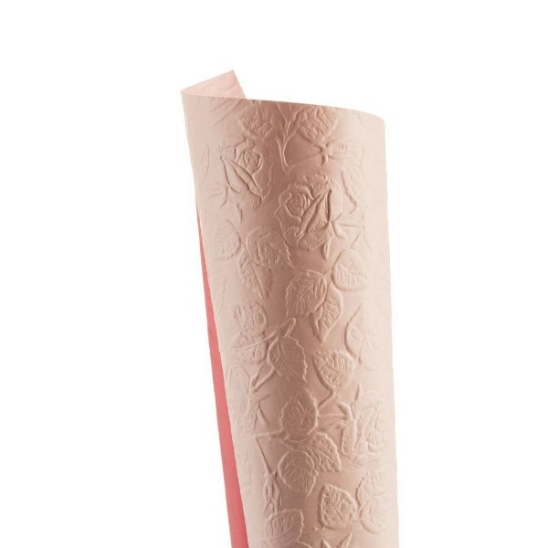 Papel Tx Max Rosas Rosa Verona 30,5x30,5cm com 5 unidades