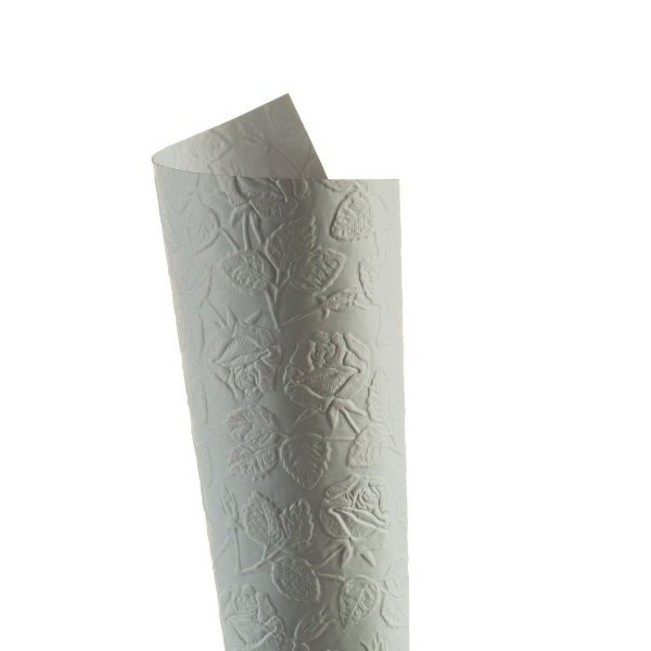 Papel Tx Max Rosas Branco 30,5x30,5cm com 5 unidades