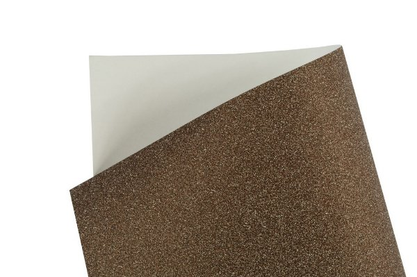 Papel Cryogen Shine Brown 30,5x30,5cm com 2 unidades