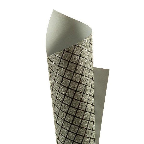 Papel Cryogen Square Black 30,5x30,5cm com 2 unidades
