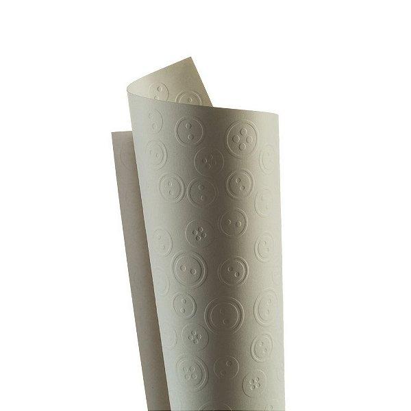 Papel Tx Realce Botões Branco 30,5x30,5cm com 5 unidades