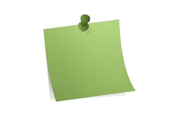Papel Color Fluo Green A4 com 10 unidades