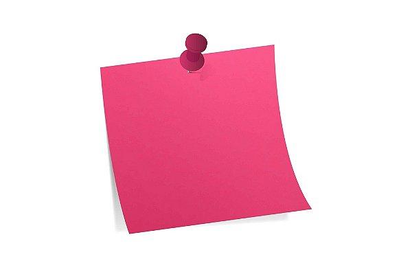 Papel Color Fluo Pink A4 com 10 unidades