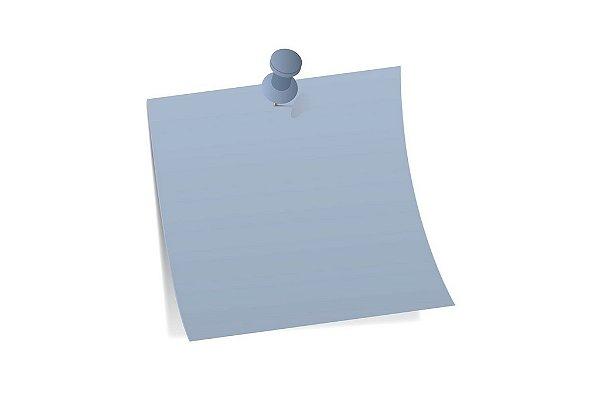 Papel Color Plus Azul Santorini 30,5x30,5cm com 10 unidades