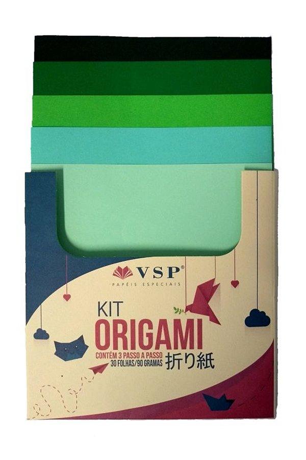 Papel para Origami Multicores 2 com 30 unidades