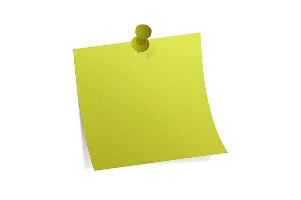 Papel Color Fluo Yellow 30,5x30,5cm com 10 unidades
