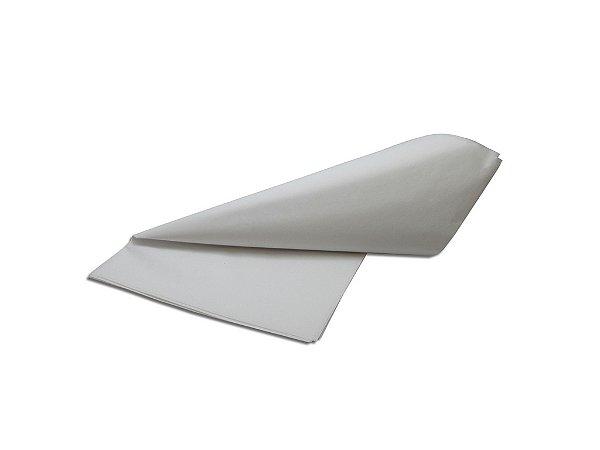 Papel de SEDA Branco para presente com 3 unidades