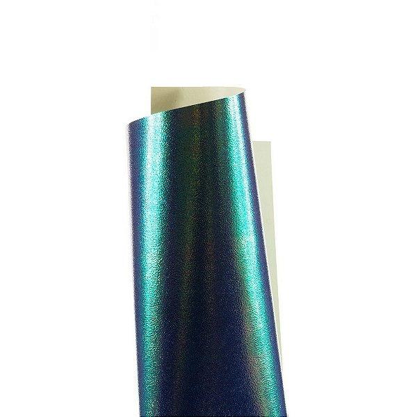 Papel Carnival Azul 30,5x30,5cm com 5 unidades