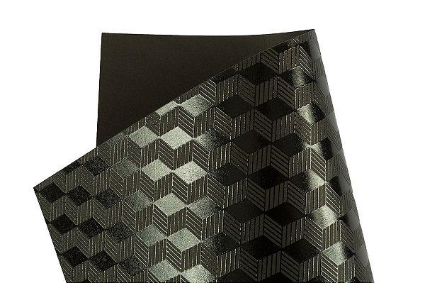 Papel SuperInk Dark Cubos 30,5x30,5cm com 2 unidades