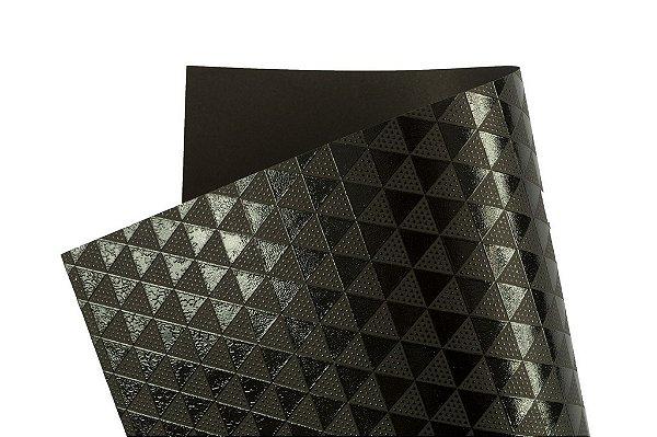 Papel SuperInk Dark Triângulo 30,5x30,5cm com 2 unidades