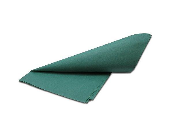 Papel de SEDA Verde para presente com 3 unidades