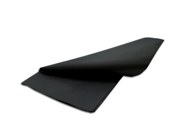 Papel de SEDA Preto formato 50x70cm para presente com 3 unidades