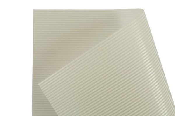 Papel Vegetal Decor Listras Clear - Branco 30,5x30,5cm com 2 unidades