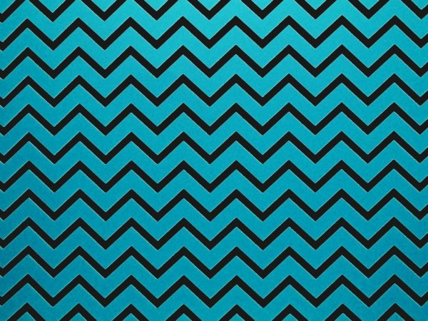 Papel Decor Chevron Blue - Preto 30,5x30,5cm com 5 unidades