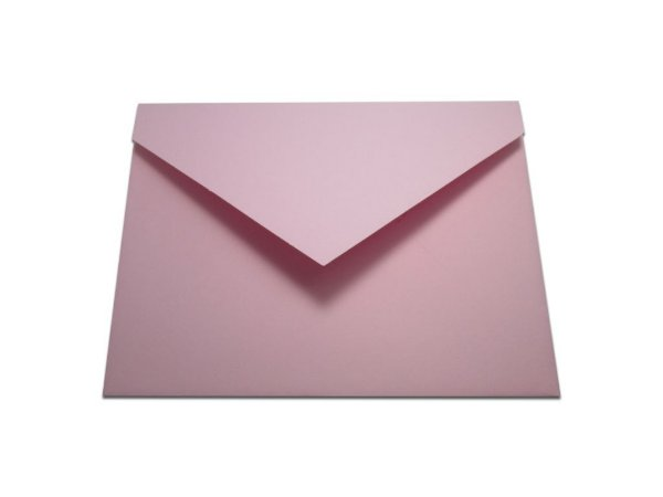 Envelopes convite Color Plus Rosa Verona com 10 unidades