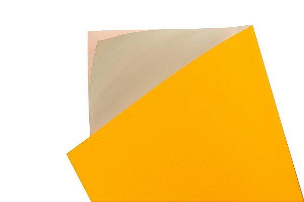 Papel Adesivo Fluor Orange 30,5x30,5cm com 5 unidades