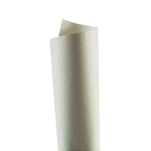 Papel Tx Realce Bouquet Branco 30,5x30,5cm com 5 unidades