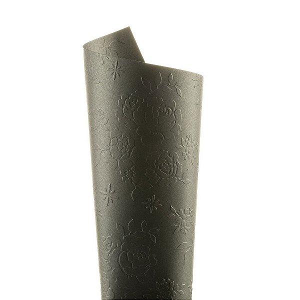 Papel Tx Realce Bouquet Los Angeles 30,5x30,5cm com 5 unidades