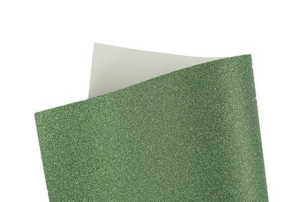 Papel Cryogen Shine Green 30,5x30,5cm com 2 unidades
