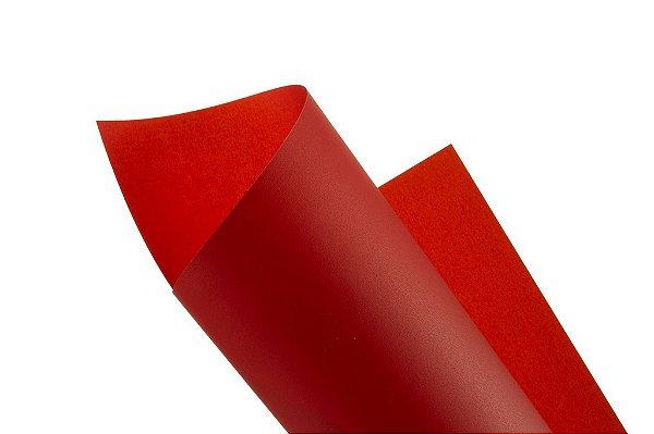 Papel vegetal Color Vermelho 30,5x30,5cm com 2 unidades