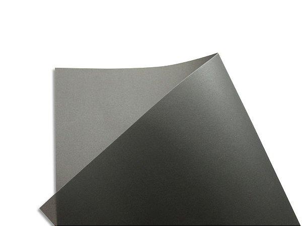 Papel vegetal Color Preto 30,5x30,5cm com 2 unidades