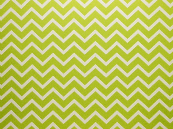 Papel Decor Chevron Green - Branco 30,5x30,5cm com 5 unidades