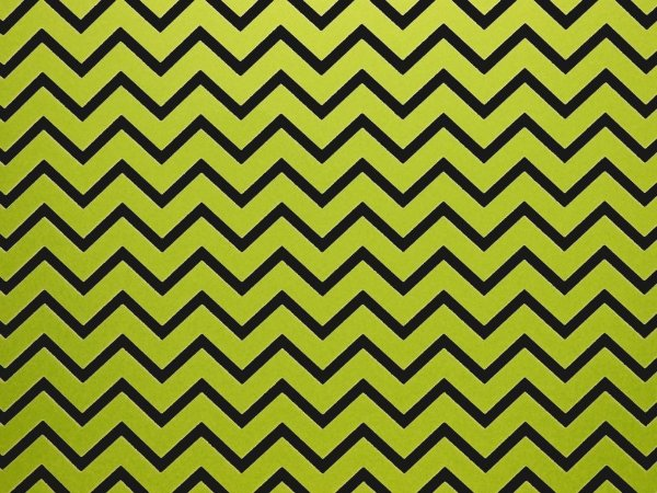 Papel Decor Chevron Green - Preto 30,5x30,5cm com 5 unidades